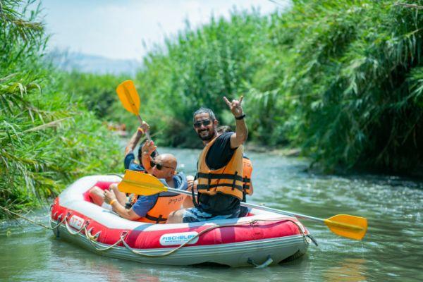 ראפטינג בנהר הירדן