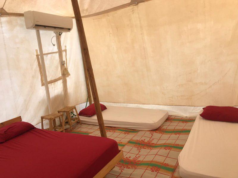 אוהל ממוזג